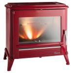 Invicta Modena Red Wood Burning Stove