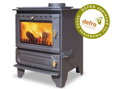 Dunsley Yorkshire Multifuel Wood Burning Boiler Stove