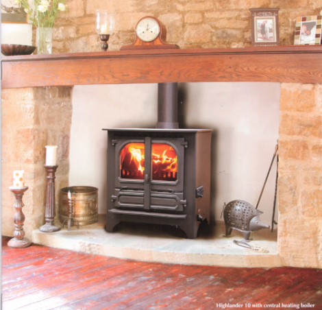 Dunsley Highlander 10 Multifuel Wood Burning Boiler Stove