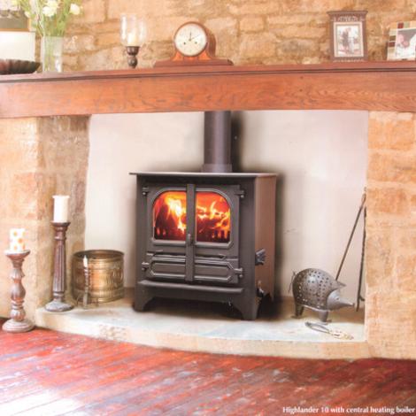 Dunsley Highlander 10 Log Store Multifuel Wood Burning