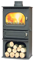 Dunsley Highlander 7 Log Store Multifuel Wood Burning Stove