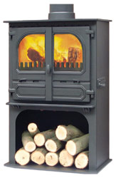 Dunsley Highlander 8 Log Store Multifuel Wood Burning Stove
