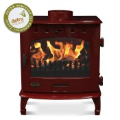 Carron 7kW Enamel Multifuel Woodburning Stove