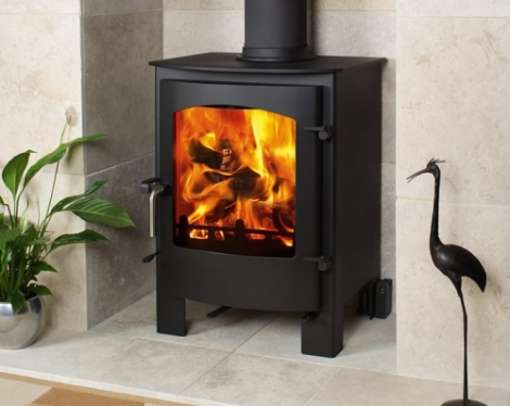 The Caedmon 7.5 Kw Multifuel Stove