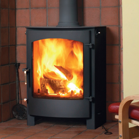 The Welburn 14 Kw Multifuel Stove