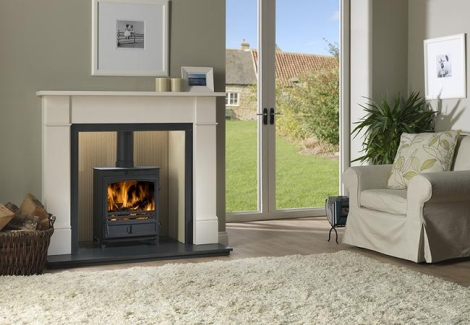 Cast Tec Juno Multi Fuel 5 Kw Stove