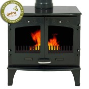 Carron 11kW Green Enamel Multifuel / Woodburning Stove