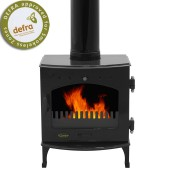 Carron 4.7kW Black Enamel Multi-fuel / Woodburning Stove