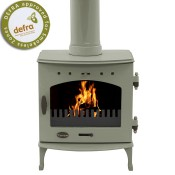 Carron 4.7kW Sage Green Enamel Multifuel / Woodburning Stove