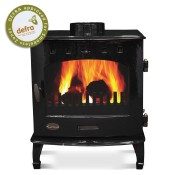 Carron 7.3kW Black Enamel Multi-fuel / Woodburning Stove
