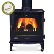 Carron 7.3kW Blue Enamel Multifuel / Wood Burning Stove