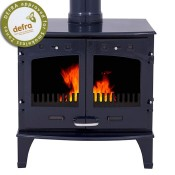 Carron 11kW Blue Enamel Multifuel / Wood Burning Stove