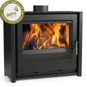 Aarrow iSeries 600 Slimline Low Multi Fuel / Woodburning Stove